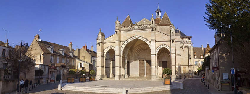 beaune monuments, beaune tours, beaune church, notre dame collegiate church beaune