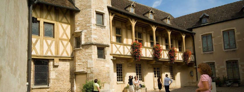 Beaune burgundy wine museum
