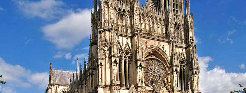 reims gothic cathedral, reims city france, reims cathedral architecture