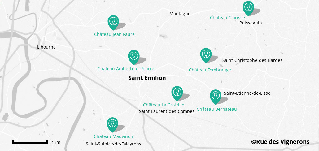Wineries close to Saint Emilion, vineyard saint emilion, visit saint emilion, map saint emilion wineries, map saint emilion vineyard