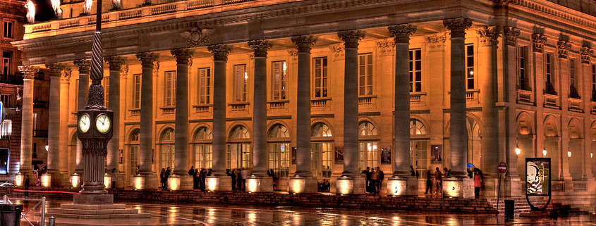 Grand theatre opera national Bordeaux