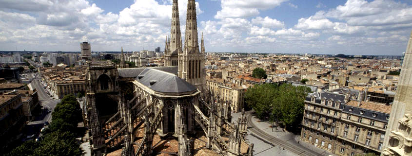 tour pey berland, cathedral Bordeaux France
