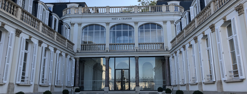 Moet & Chandon champagne house epernay